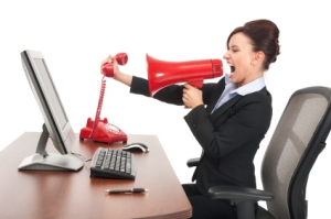 WomanShouting