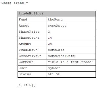 Trade builder
